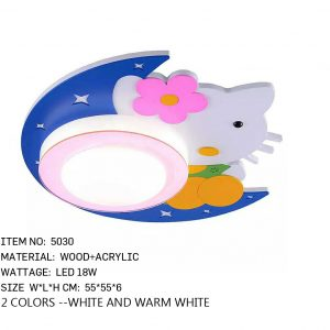 5030 - KIds Led - Kitty Pink
