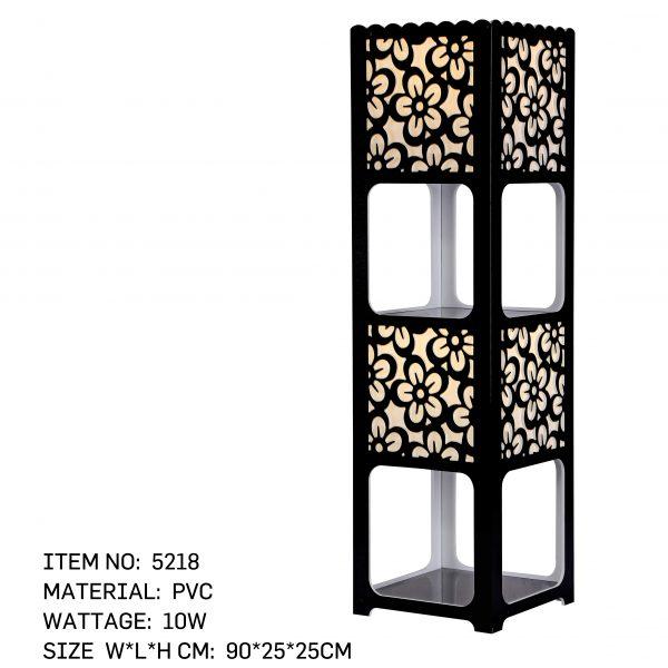5218 - Shelf Pillar Black
