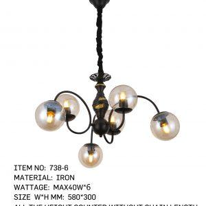 738-6 - 6 Bulb circle
