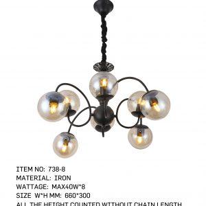 738-8 - 8 Bulbs Circle