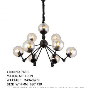763-9 - 9 Bulbs Angle