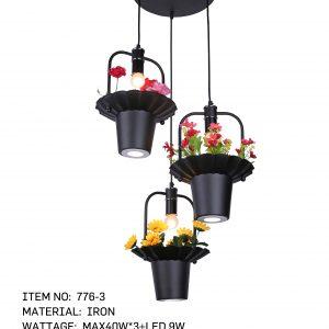 776-3- 3 FlowerPots
