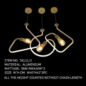 78131-3 - Twisted Bulbs 3