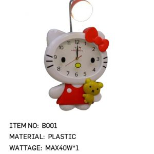 B001 - Kitty Clock