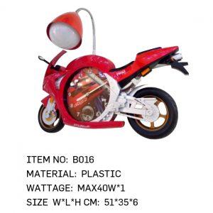 B016 - Red Bike