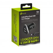 USB Car Charger Blk with Android cable
