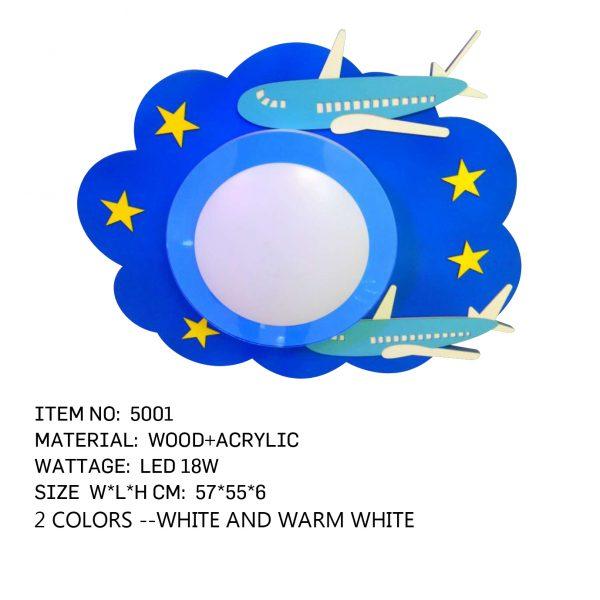 5001- Airplane Blue Kids