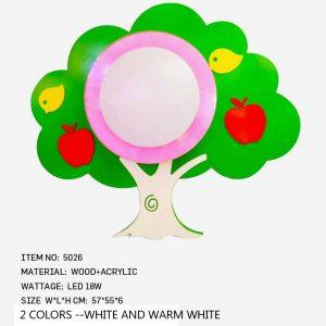 5026 - KIDS Led TREE - Green