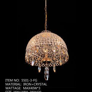 5501-3-FG - 3 Crystal Circle