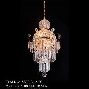 5559-3+2-FG - Orange Crystal