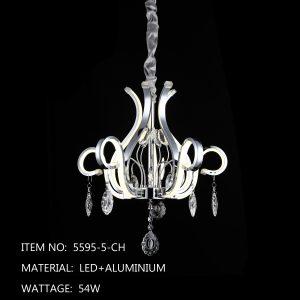 5595-5-CH - Silver Flower
