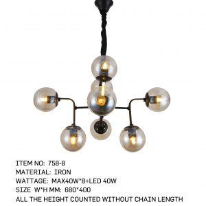 758-8 - 8 Bulbs Angle