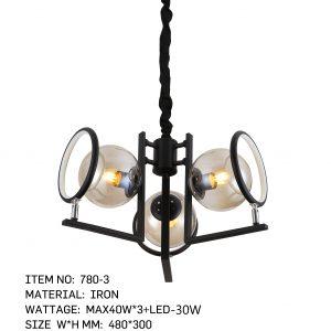 780-3- 3 Bulbs Magnifier