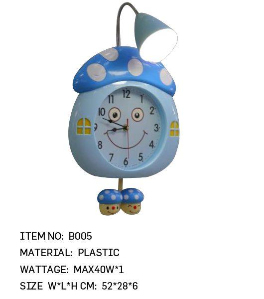 B005 - Mushroom Clock