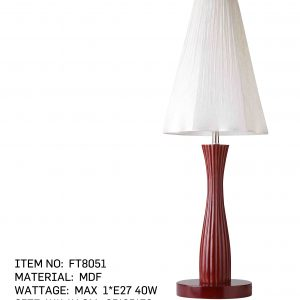 FT8051 - table lamp white